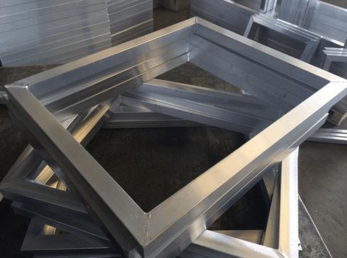 丝印铝合金网框制作