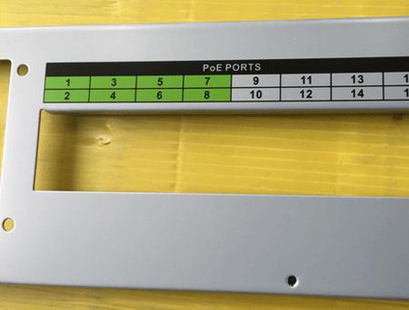 标准件机器外壳高温丝印油墨印刷