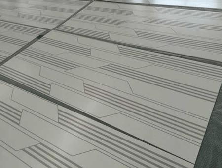 铝塑板金属幕墙大面积丝印加工